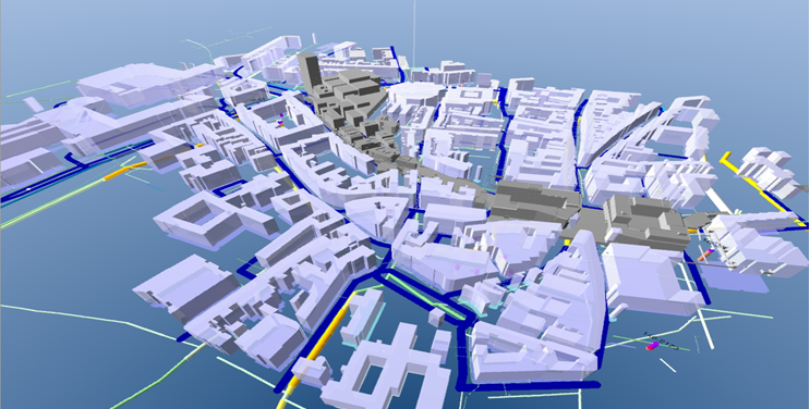 Urban Geology | Voxel model